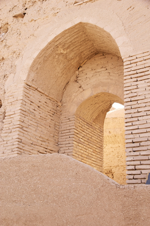 to incorporate: Architecture details of the Narin Qal eh Castle, Neybod, Iran Narin Castle is a mud-brick fort or castle  Some of these castles incorporate mud bricks of the Medes period and of the Achaemenid and Sassanid dynasties  Editorial