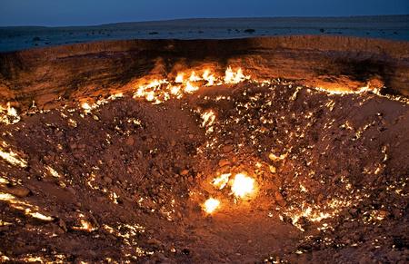 Door to Hell, Derweze, Turkmenistan.