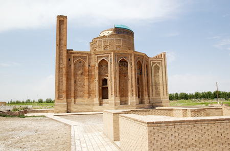Turabek Khanum Mausoleum view from the south