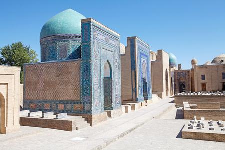 samarkand: Shah-i-Zinda central group, Samarkand, Uzbekistan.