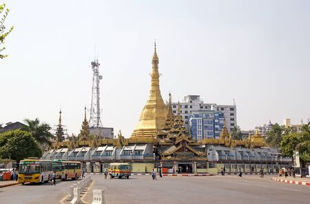 rallying: Sule Paya Pagoda, Yangon, Myanmar. Sule Paya Pagoda is located in downtown Yangon. It has been the focal point of Yangon and Burmese politics: it has served as a rallying point in both 1988 uprising and 2007 Saffron Revolution Editorial
