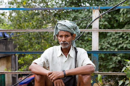 linguistic: Indian man portrait. Indian refers to nationality, not ethnicity or language. The indian nationality consist of many regional ethno linguistic groups, reflecting the complex history of India Editorial