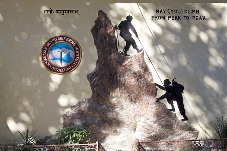 kin: Himalayan Mountaineering Institute, Darjeeling, West Bengal, India. It was established on November 4, 1954. The first ascent of Mount Everest in 1953 by Tenzing Norgay and edmund Hillary sparked a kin interest in establishing mountaineering in the region. Editorial