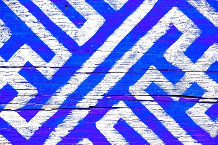 woo: Abstract wooden background with blue and white colors