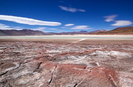 라군과 산 칠레 아타 카마 사막에서 프리.