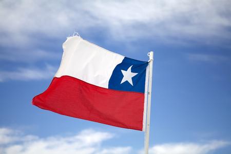 Banderas de Chile en Santiago, Chile