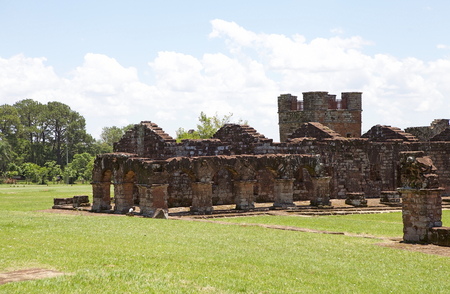 The Jesuit Missions of La Santisima Trinidad de Parana is located in the Itapua Departement in Paraguay and is a religious missions that were founded by Jesuit missioners during the colonization of South America during the 17th Century.