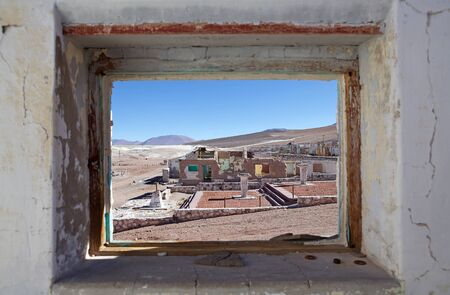 Mina La Casualidad in Salta Province in northwestern Argentina. Mina la Casualidad is a ghost town at 4200 meters above the sea level