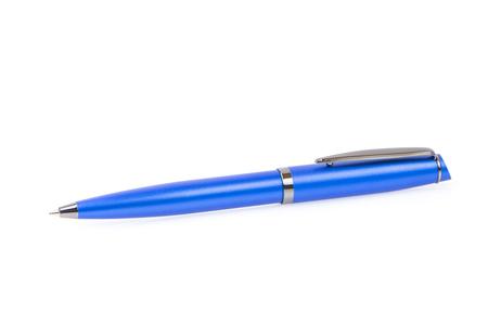 ballpoint: Ballpoint pen isolated on white background Stock Photo