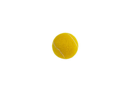 Tennis ball isolated on white background Фото со стока