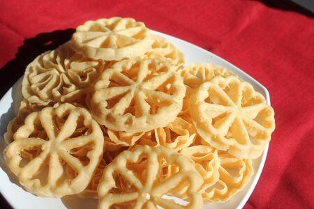 Traditional Indonesian Food  Kembang Goyang