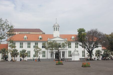 The old building in Jakarta