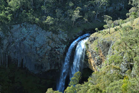 guy fawkes: Guy Fawkes River Ebor Falls in New South Wales Australia Editorial