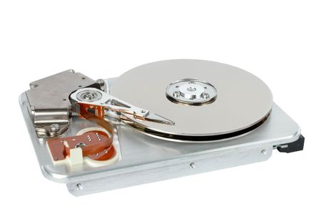 mass storage: Hard disk Stock Photo