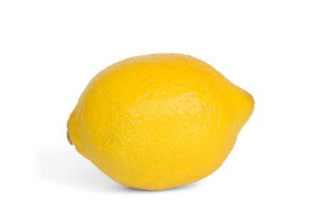 Isolated lemon Stock Photo - 526100