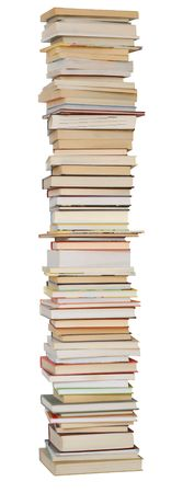 Isolated books Stock Photo - 639427
