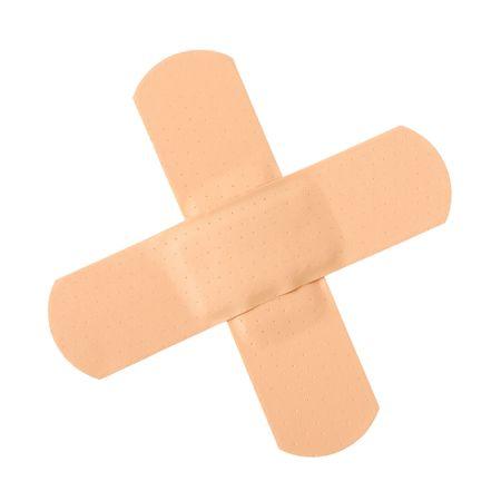 Isolated bandage Stock Photo