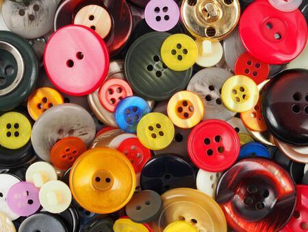 Set of buttons, can be used as a background Stock Photo - 17191031