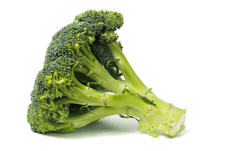 Fresh, green broccoli isolated on white background Stock fotó