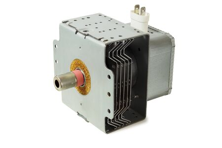 Cavity magnetron tube used in microwave ovens