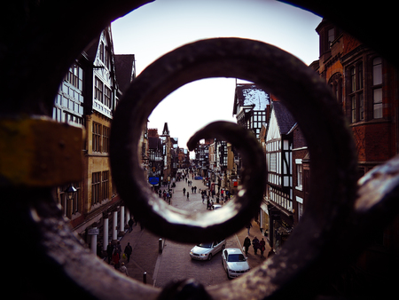 chester: City of Chester Stock Photo