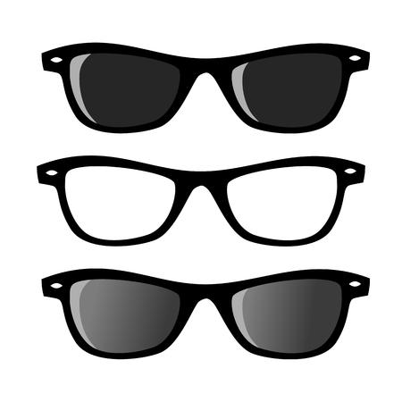 Three modern glasses