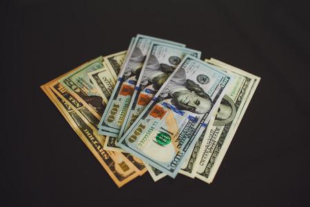 Money $100 dollar  bills  banknote
