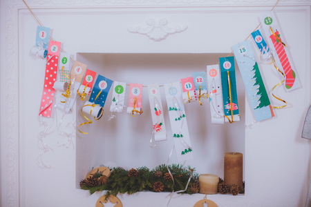 Christmas Tree gifts for the fireplace socks for gifts