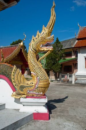thaiart: Thaiart style temple in Thailand
