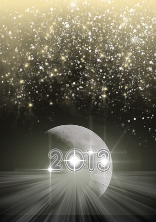 Background 2013 New Year concept photo