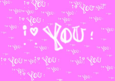 Text, I love You, Art  photo