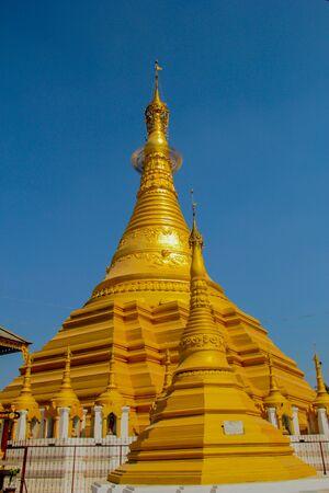buddhist stupa: The buddhist stupa Stock Photo