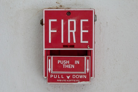 Fire alarm box  photo