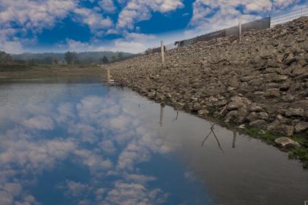 Construction of small irrigation dams  photo
