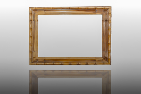 Frames made ​​of wood. photo