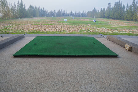 driving range: modern golf course driving range,golf practice fields in thailand