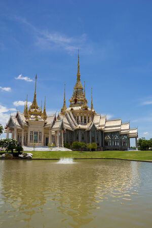 thai temple ,Wat Non Kum Nakhon Ratchasima, Thailand. photo