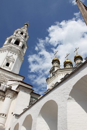 Orthodox church against the sky photo