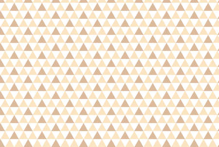 Pink and beige triangular scaly wallpaper