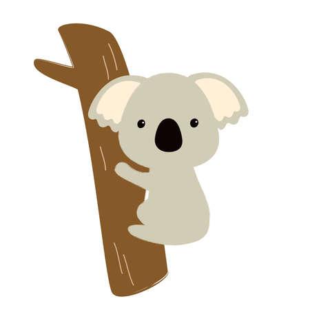 Koala Illustrations  イラスト・ベクター素材