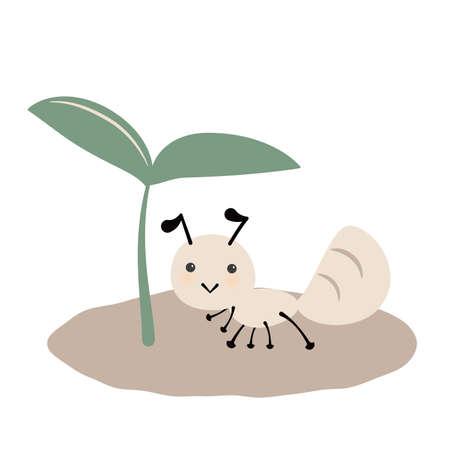 Illustration of Futaba and Ants