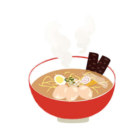 Chinese Ramen Illustrations
