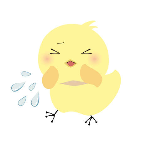 a chick that sneezes without a mask