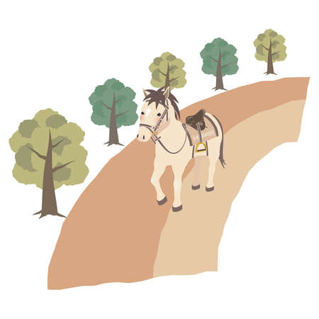 Image of horseback riding