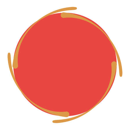 Sun Deformed Vektorové ilustrace