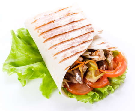 This shawarma prepared by experienced chefs in a good cafe