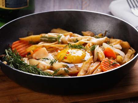 scrambled: Omelette
