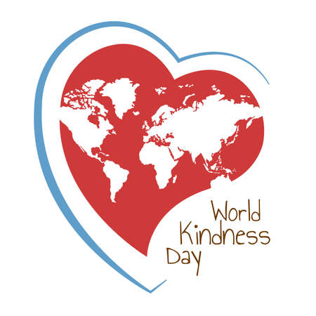 Vector Illustration on the theme World Kindness Day. Stock fotó - 90411935