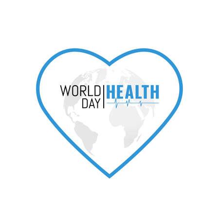 Illustration on the theme World Health Day