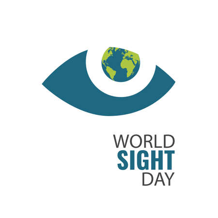 Vector Illustration on the theme World Sight Day Ilustracja